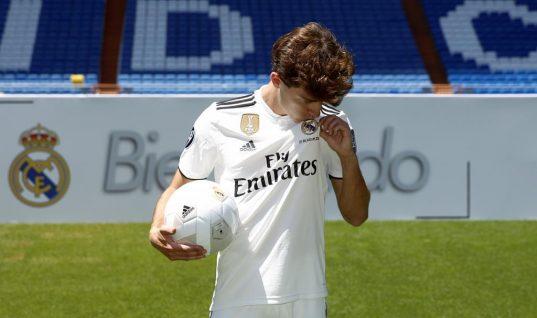 Real Madrid presenta a Álvaro Odriozola, su nuevo lateral