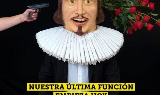 Foro Shakespeare anuncia últimas funciones antes de bajar el telón