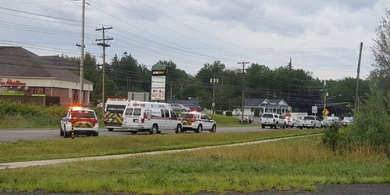 Tiroteo en Canadá deja dos policías muertos