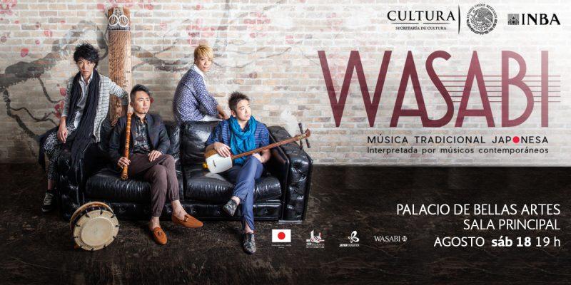 Música Wasabi, se hará sonar en el Palacio de Bellas Artes