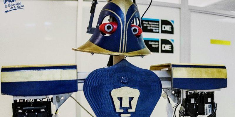 """""""Justina"""", androide de la UNAM, acudirá a conferencia de robótica en Madrid"""