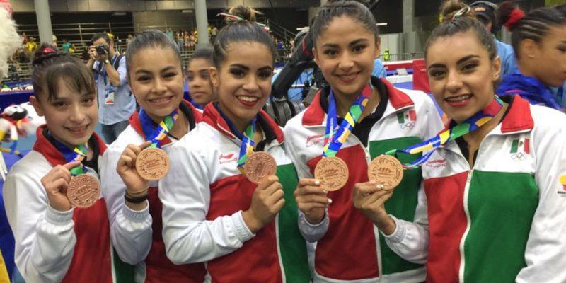 La selección mexicana de gimnasia está lista para el Campeonato Mundial de Gimnasia Rítmica 2018