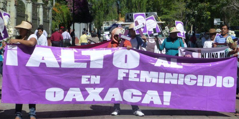 Activan alerta de género en Oaxaca tras alto número de feminicidios