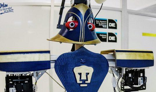 Androide diseñada en la UNAM gana certamen internacional