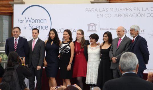 Reconocen con beca L'Oréal-UNESCO 2018 a cinco científicas mexicanas