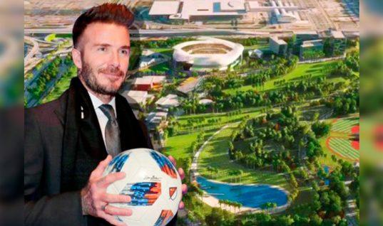 Estadio de David Beckham en manos de los votantes de Miami