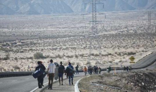 """""""Caminamos casi once horas sin parar"""": narran miembros de Caravana Migrante"""
