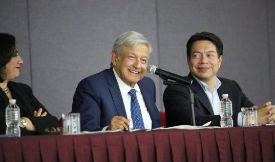 Todo listo para toma de protesta de López Obrador