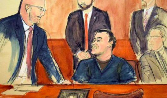 """El juez del proceso contra """"El Chapo"""" le niega permiso para abrazar a su esposa"""