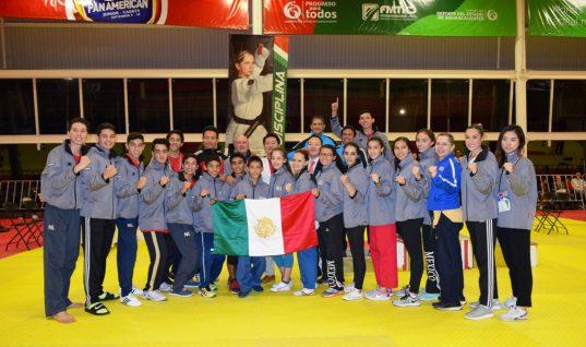 México está listo para participar en Mundial de Taekwondo Poomsae 2018