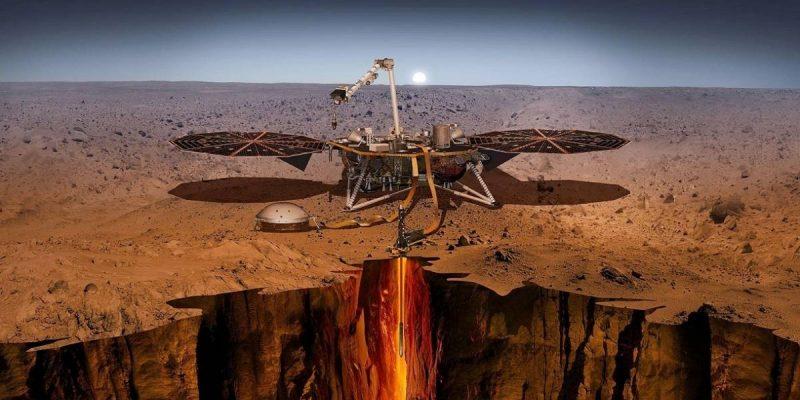Aterriza con éxito en Marte nave espacial InSight de la NASA