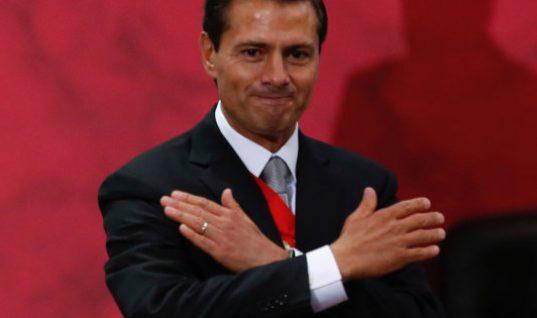 Peña Nieto inicia a despedirse de mexicanos