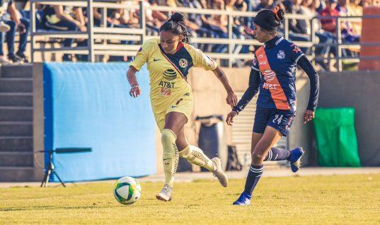 América Femenil corta la racha del Club Puebla