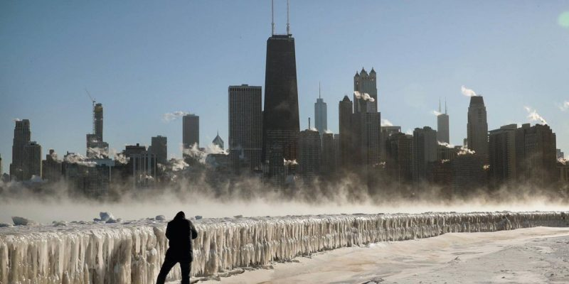 Estados Unidos afectado por intensa onda polar, suman diez muertos