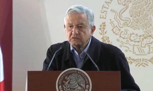 Pide AMLO elecciones pacíficas en Puebla