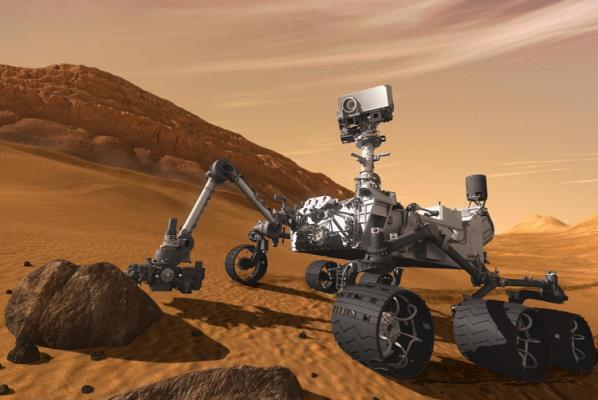 Robot explorador Curiosity toma video en 360 grados de Marte