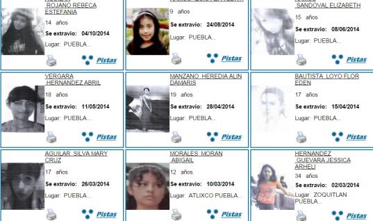742 menores de edad desaparecidos en Puebla en 6 años