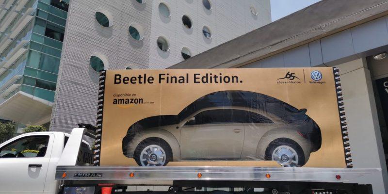 Amazon entrega primer Beetle Final Edition comprado en su plataforma