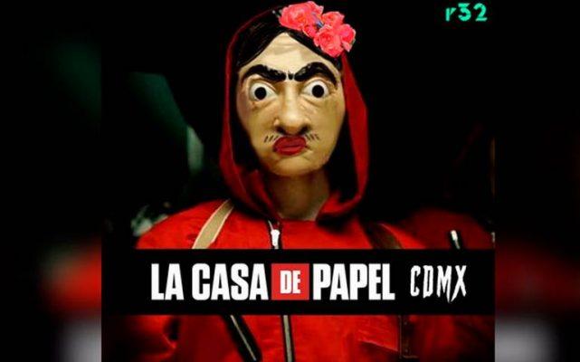 ¡Casa de Papel MX! Roban 50 millones de pesos de la Casa de Moneda de México