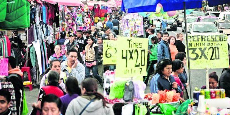 Crece el sector informal en Puebla, respecto a años pasados