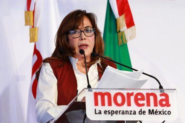 Yeidckol Polevnsky ofrece renunciar al 75% del presupuesto de Morena