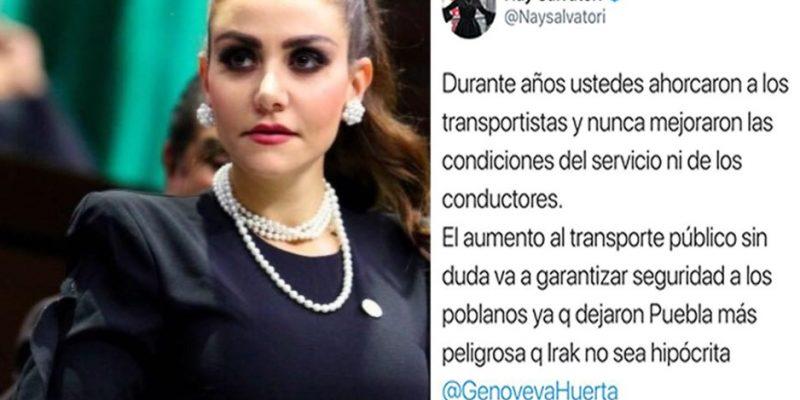 Puebla más insegura que Irak: Nay Salvatori