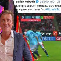 Comentarista compara jugada de fútbol con un feminicidio: la deja muerta, dijo