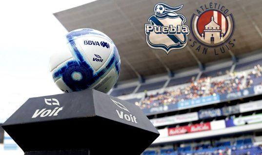 El Club Puebla busca escalar en la tabla y darle la bienvenida al nuevo técnico del Atlético San Luis
