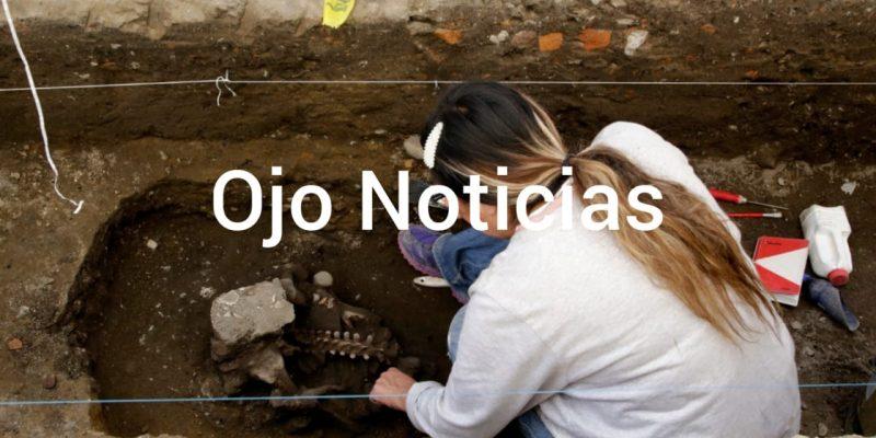 Descubren entierros prehispánicos en Cholula