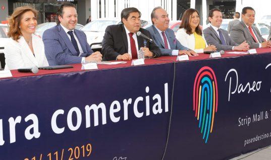 Inversión extranjera coloca a Puebla en la ruta planteada: Barbosa