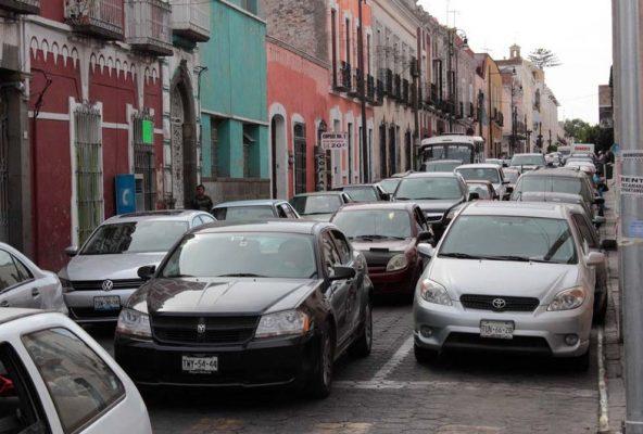"""Ayuntamiento de Puebla pretende """"velocidad tortuga"""" en Centro Histórico"""
