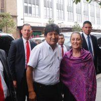 Evo Morales, más protegido que el presidente de la República