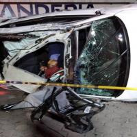 Accidente automovilístico provoca muerte de un hombre en la Puebla-Tehuacán