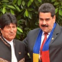 Gran marcha antiimperialista: venezolanos apoyan a Evo Morales