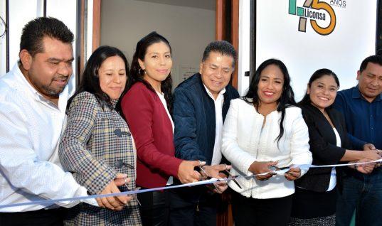 Inauguran 4 lecherías Liconsa en Cuautlancingo