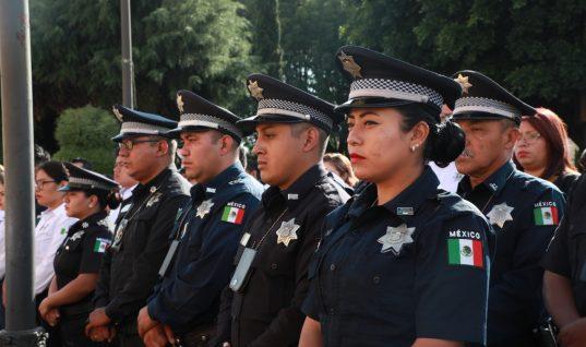Garantiza San Andrés Cholula el pago de aguinaldo a sus policías